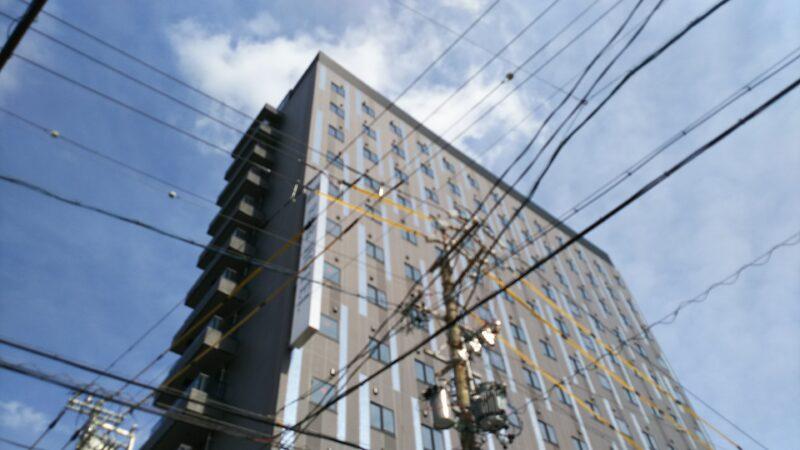 R&Bホテル 名古屋新幹線口 オープン間近