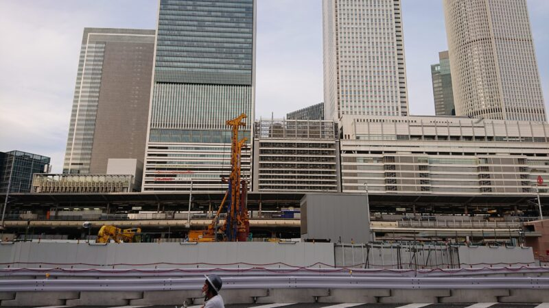 リニア名古屋駅建設工事