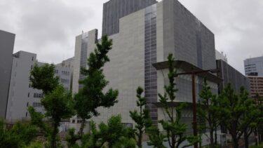 旧ビルの解体工事が本格化・・・「名古屋フコク生命ビル」建て替え工事(【仮称】名古屋丸の内一丁目計画) 2021年5月